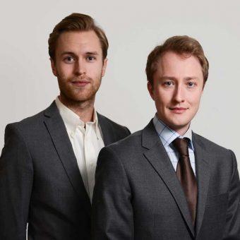 VD-assistetn Anton Weihard och VD Dennis Jillvert
